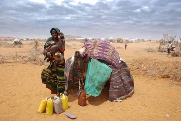 写真 アフリカ の 角 で 深刻 な ...
